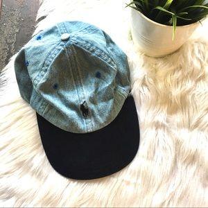 POLO RALPH LAUREN VTG Denim Hat Adjustable Cap